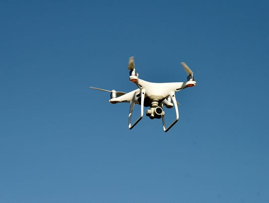 Meadowlands Environmental Research Institute (MERI) scientists demonstrate drones