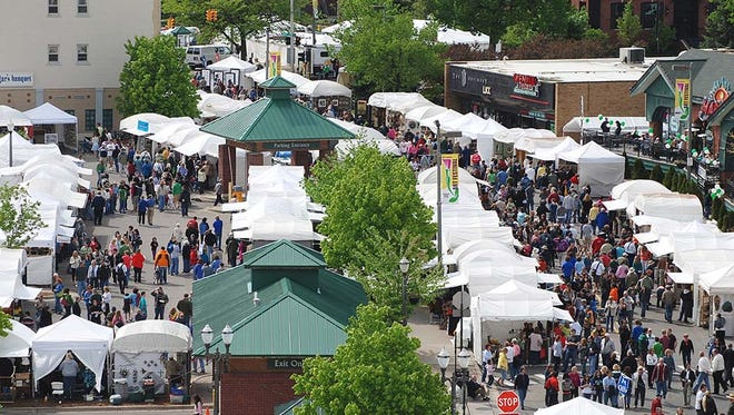 Live music, fun activities, food and the creations of diverse and talented artists are just some of the things you will find at this year's East Lansing Art Festival.