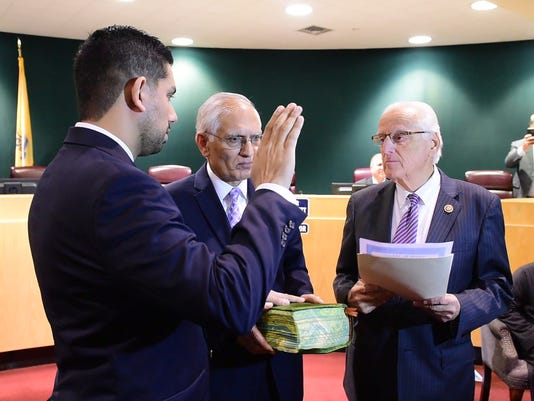Swearing in of Passaic County Freeholder Assad Akhter