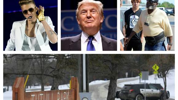 Justin Bieber, Donald Trump, Floyd Pickett and the