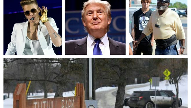 Justin Bieber, Donald Trump, Floyd Pickett and the January 2015 police shooting at Tuthill Park could pop up in Sioux Falls' future, Stu Whitney writes.
