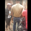 In this screenshot from a viral video taken at Kathy's Crab House in Delaware City, the woman on the left, who identified herself to The News Journal as Ciara Miller, argues with people over the presence of retired U.S. Army Master Sgt. Bill Austin's PTSD service dog. Miller said the dog was putting its rear end in her face and that it ruined her dining experience, and when she said so she was confronted. Then a loud and personal argument begins.