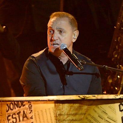 Franco de Vita performs at  the Latin American Music