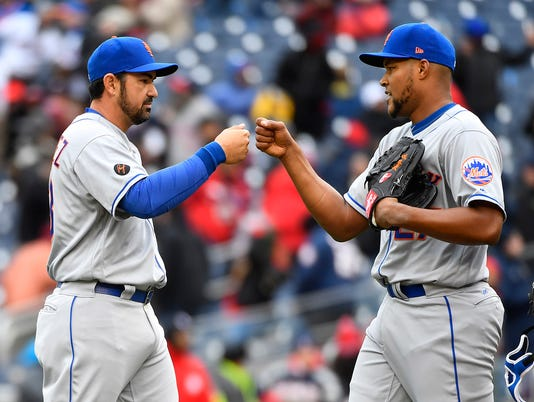 MLB: New York Mets at Washington Nationals