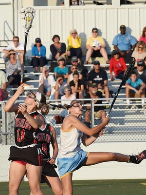 Cape Henlopen HS girls lacrosse hosted Ursuline girls in a State Tournament quarterfinal game at the school near Lewes on Tuesday May 19th.