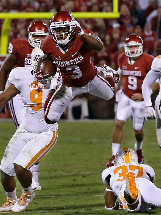 Tennessee Oklahoma Football