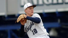 Central Catholic's Hayes Cronk leads the area in earned run average and ranks fourth in strikeouts.