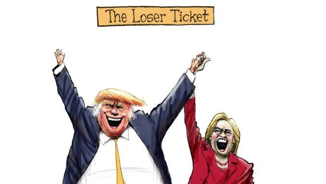 Cartoon for Oct. 12, 2016.