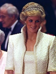 Princess Diana on an official visit to Hong Kong in