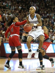 Mississippi State senior guard Jordan Danberry has also seen her role increase in importance. Danberry's time on the court has more than doubled from her junior to senior season.