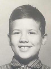 Rick Lynne Davis as a child