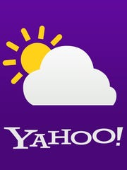 The Yahoo! weather logo