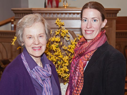 "The Cantabile Chamber Chorale, under the leadership of founder Rebecca Scott (left) will be joined by members of the New Brunswick High School Concert Choir under director Jennifer Emery. The two groups will collaborate on select pieces in ""Spring Equinox: A Time for Balance,"" which will be presented Saturday, April 30, at Christ United Methodist Church in Piscataway."