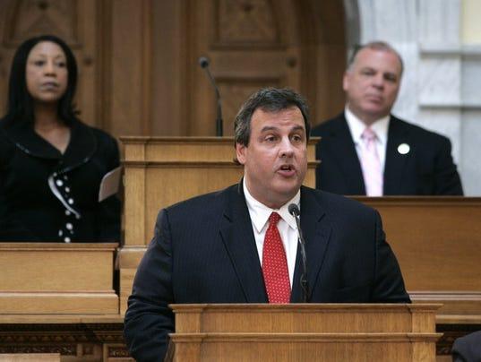 Christie 2010 legislature