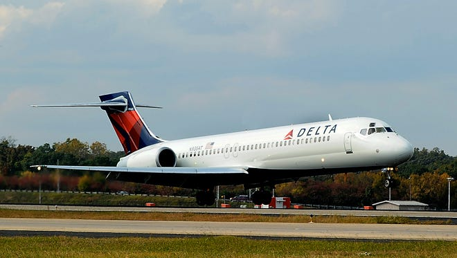 Delta says it will temporarily fly Boeing 717s on some of its Delta Shuttle routes while Amtrak's Northeast Corridor service remains disrupted.
