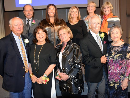 2017 National Philanthropy Day Award recipients, from