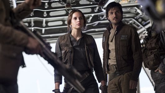 Another 'Star Wars' movie, another round of toys: New stuff from 'Rogue One,' starring Felicity Jones and Diego Luna, has arrived.