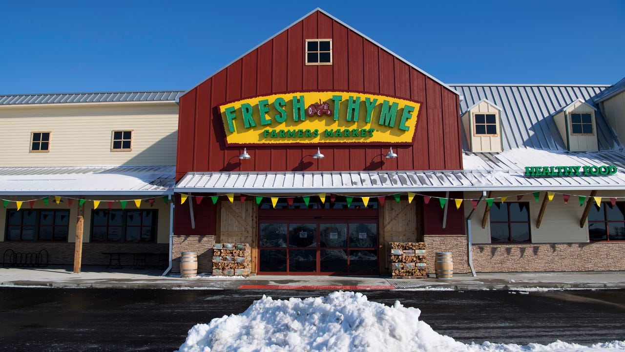 Greg Johnson, director of operations for Fresh Thyme's central region, describes the options offered at Fresh Thyme Farmers Market and the atmosphere provided for the customer.
