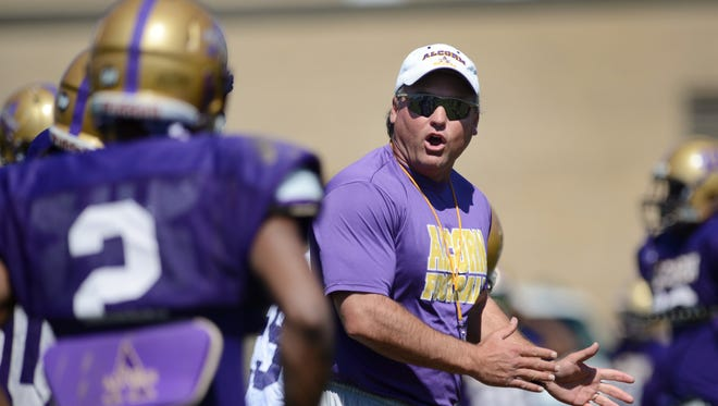 Alcorn State will announce the permanent replacement for Jay Hopson, who took the coaching job at Southern Miss, on Tuesday afternoon.