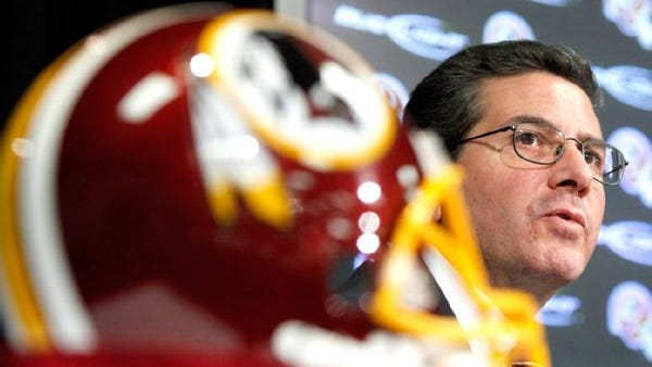 Redskins owner Daniel Snyder has been steadfast in his stance that he will not change his team's nickname.
