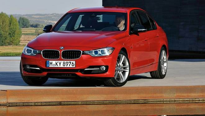 The BMW 3 Series, shown here in 2011, fared poorly in one study of depreciation