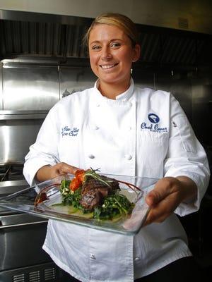 Lauren Van Liew, owner of Chef Covas Catering.