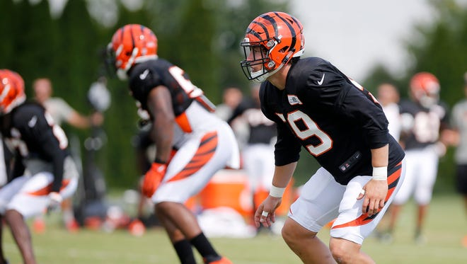 Bengals Nick Vigil has an opportunity to win a starting spot with a strong camp and preseason in 2017.