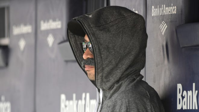 Ichiro Suzuki, who as special assistant to the chairman of the Seattle Mariners isn't supposed to be in the dugout, disguised himself to do just that during a game Thursday in New York.
