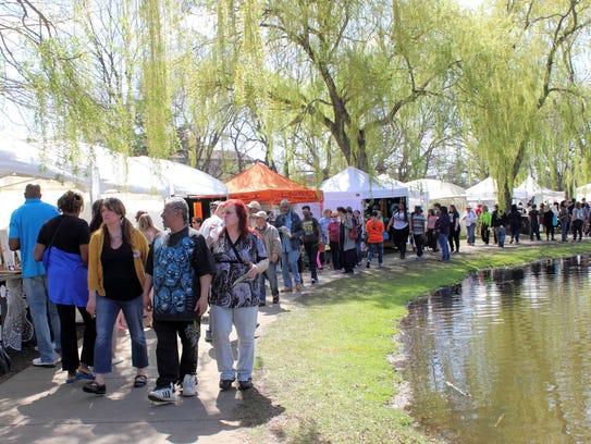 Palmer Park Art Fair returns May 14-15.