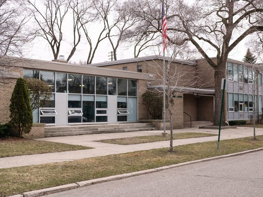 Most Holy Trinity School in Detroit is seen on Wednesday,