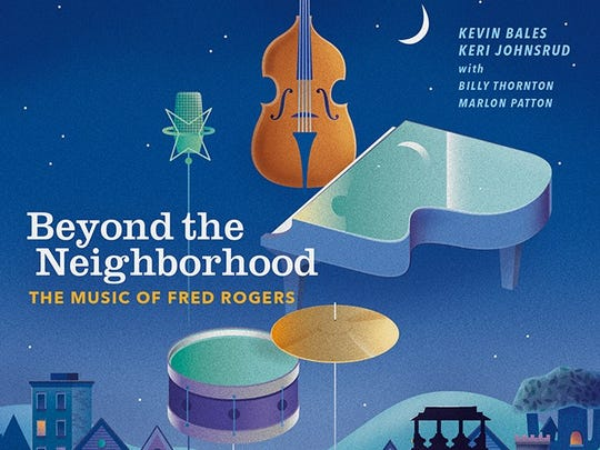 "The album cover to ""Beyond the Neighborhood: The Music of Fred Rogers,"" with vocals by native Iowan Keri Johnsrud."