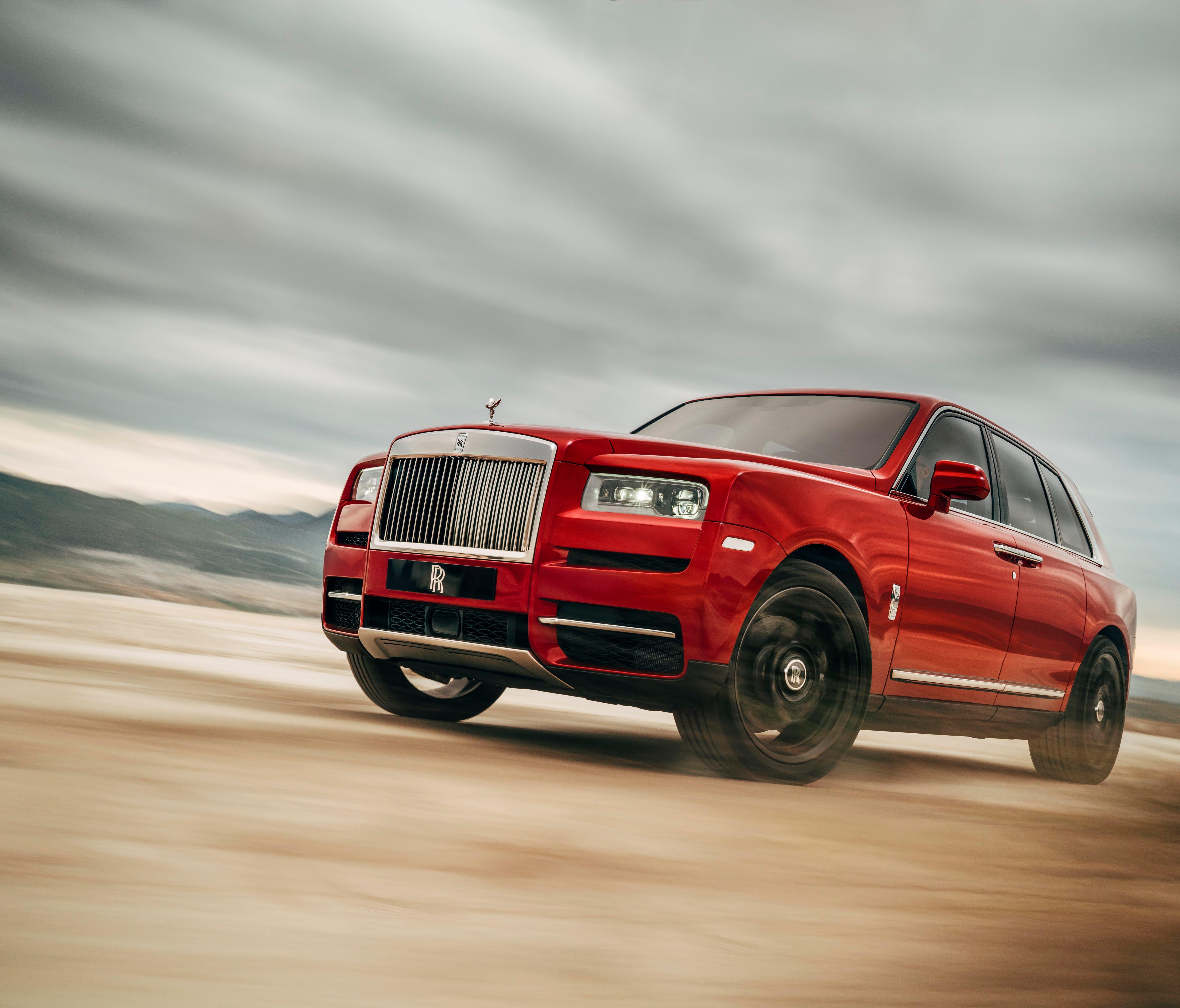 Rolls-Royce unveils the Cullinan SUV
