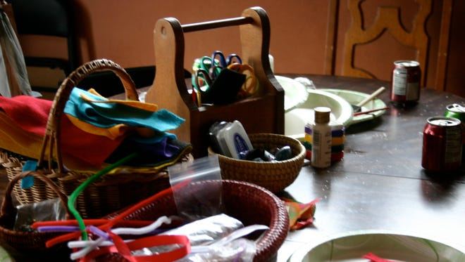 Craft table.