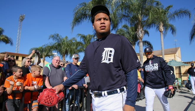 Tigers pitcher Bruce Rondon.