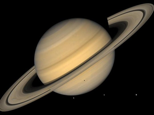 """Come by Asan Beach to see the planet Saturn through a large telescope. The War in the Pacific National Historical Park will host its """"Night Under the Stars"""" Astronomy Program at 7 p.m. July 30 at the Asan Beach Unit, near the flags."""