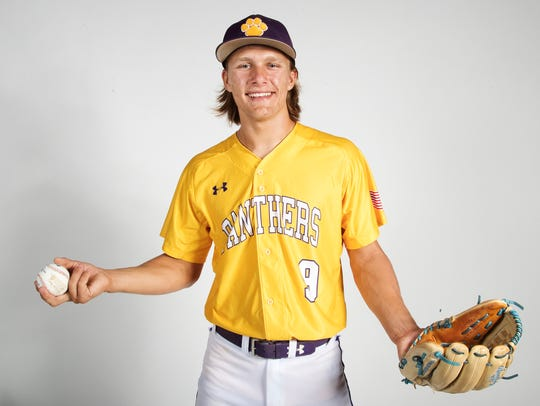 Cypress Lake High School baseball player Robert Wegielnik.