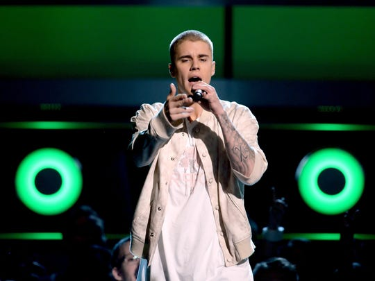 Justin Bieber will perform on June 25 at Bankers Life Fieldhouse.