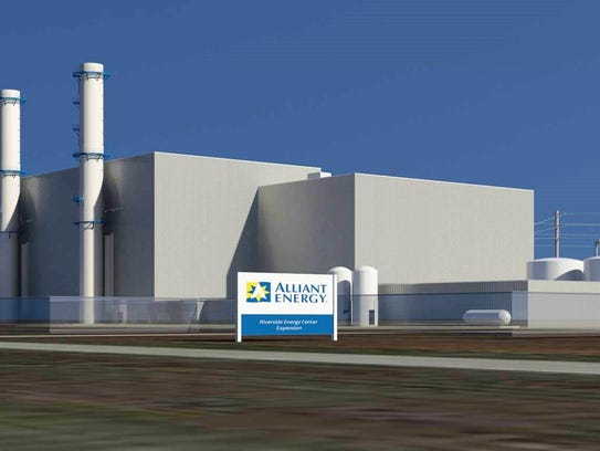 Ground was broken in September for Alliant Energy's