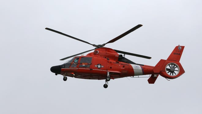 Coast Guard Sector Corpus Christi helicopter