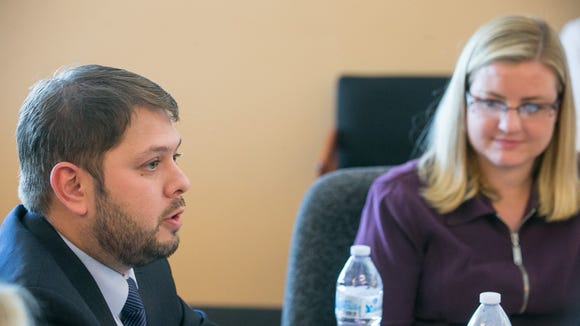 U.S. Rep. Ruben Gallego, D-Ariz., and his wife Phoenix