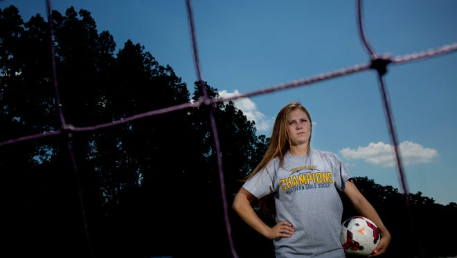 Port Huron Northern High School senior Hannah Jones is the Time Herald Soccer Player of the Year.