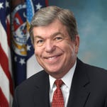 Blunt donates amount equal to contribution from Hastert PAC