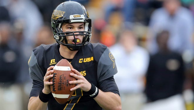 Southern Miss quarterback Nick Mullens has led the Golden Eagles to the title of the top-ranked offense in C-USA.