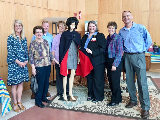 Holy Family Memorial celebrated National Nurses Week May 6-12. To honor the week, a nurse's cape from Holy Family Hospital School of Nursing was donated to HFM.