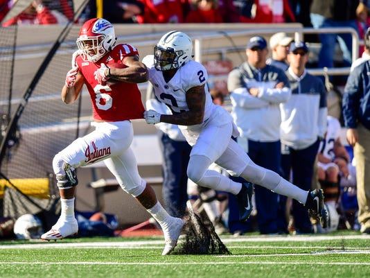 NCAA Football: Penn State at Indiana