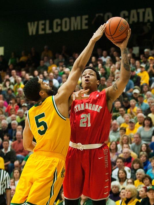 Stony Brook vs. Vermont Men's Basketball 03/08/15