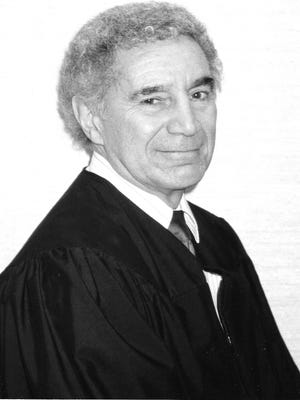 Former Judge Donald Mark died on February 10, 2018. He was 91.