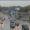 Traffic camera image of West 41st Street near I-29 at 12 p.m. on Saturday. Rain will continue to fall throughout the day.