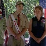 Welch awarded Eagle Scout
