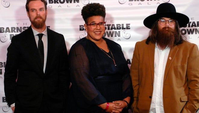 Musicians, Alabama Shakes walk the red carpet at the Barnstable-Brown Gala Friday night.   May 06, 2016
